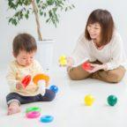 【お座り~たっちの赤ちゃん必見】100均商品で出来る簡単オモチャの作り方